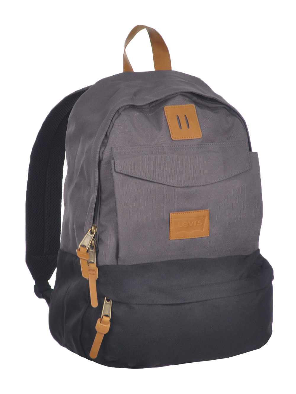 "Levi's ""Black Forest"" Backpack - charcoal gray, one size"