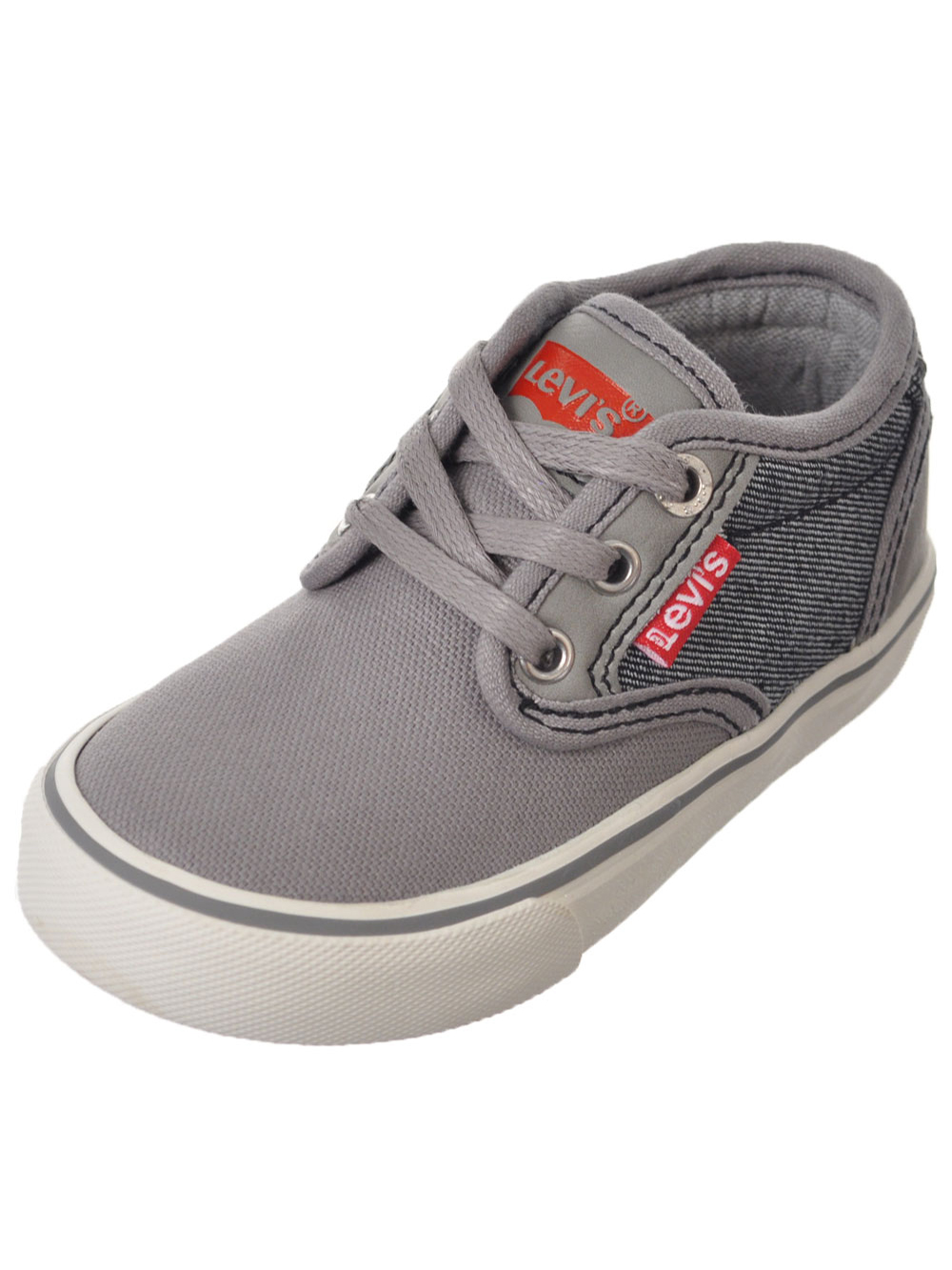"Levi's Boys' ""Cali Denim"" Low-Top Sneakers (Toddler Sizes 5 - 10) - gray, 5 toddler"