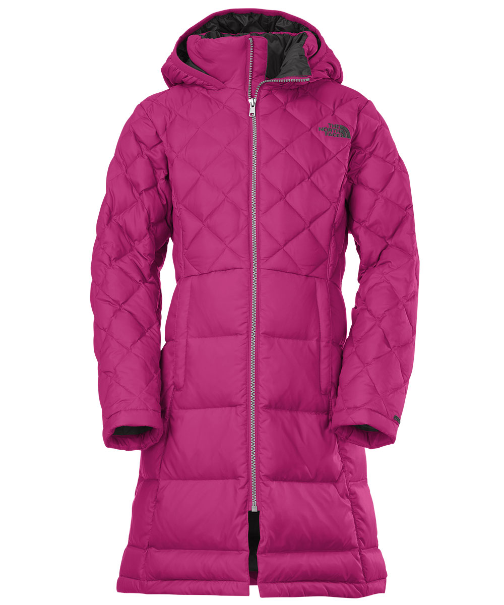 The North Face Big Girls' Metropolis Down Jacket (Sizes 7 - 16)