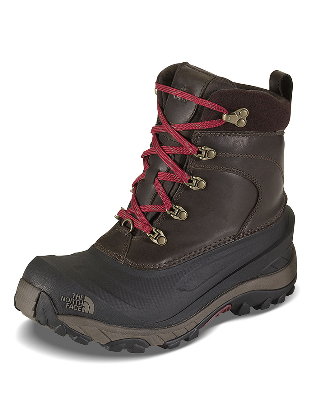 The North Face Men's Chilkat II Luxe Boots - coffee brown/shroom brown, 7 youth