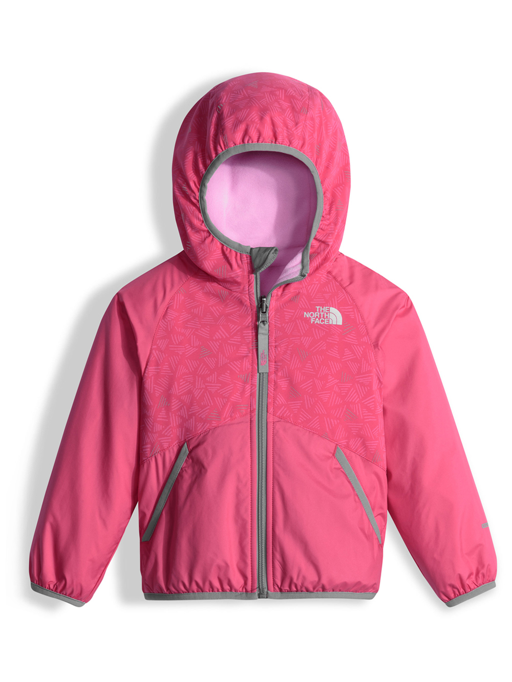 The North Face Little Girls' Toddler Reversible Breezeway Wind Jacket (Sizes 2T - 4T)