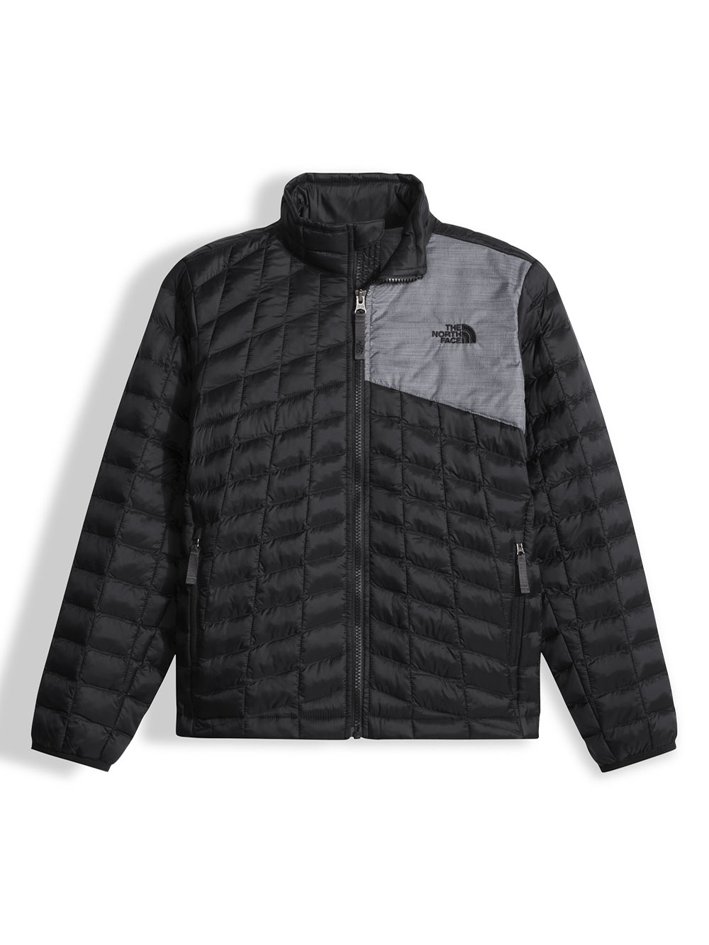 The North Face Little Boys' Thermoball Full Zip Jacket (Sizes XXS - XS) - black, xs/6
