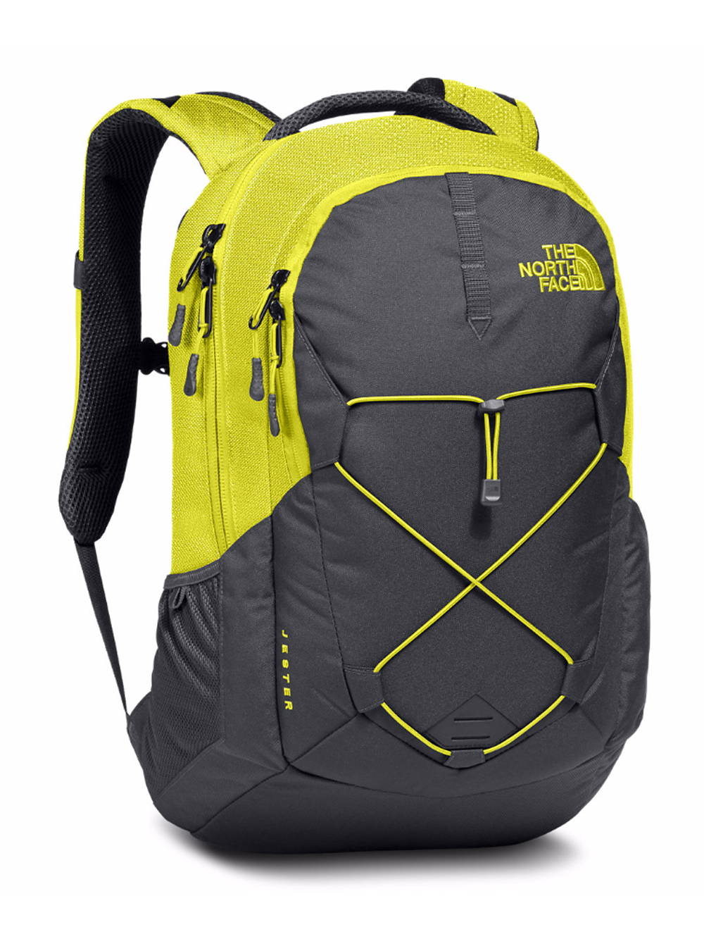 The North Face Jester Backpack - sulphur spring green/asphalt grey, one size