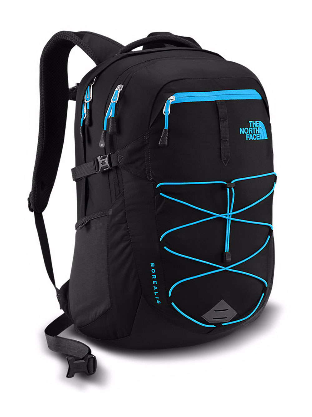 The North Face Borealis Backpack - black/hyper blue, one size