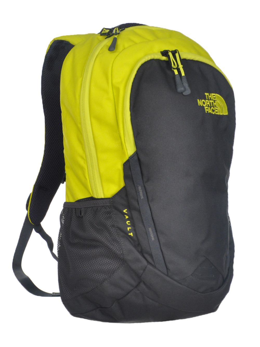 The North Face Vault Backpack - sulphur spring green/asphalt grey, one size