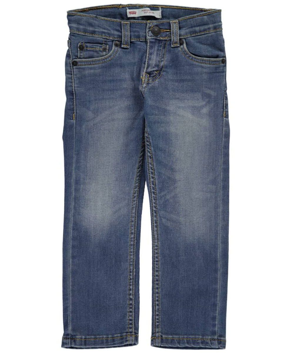 "Levi's Little Boys' 511 ""Reclaimed"" Slim Fit Performance Jeans (Sizes 4 - 7) - denim blue, 7"