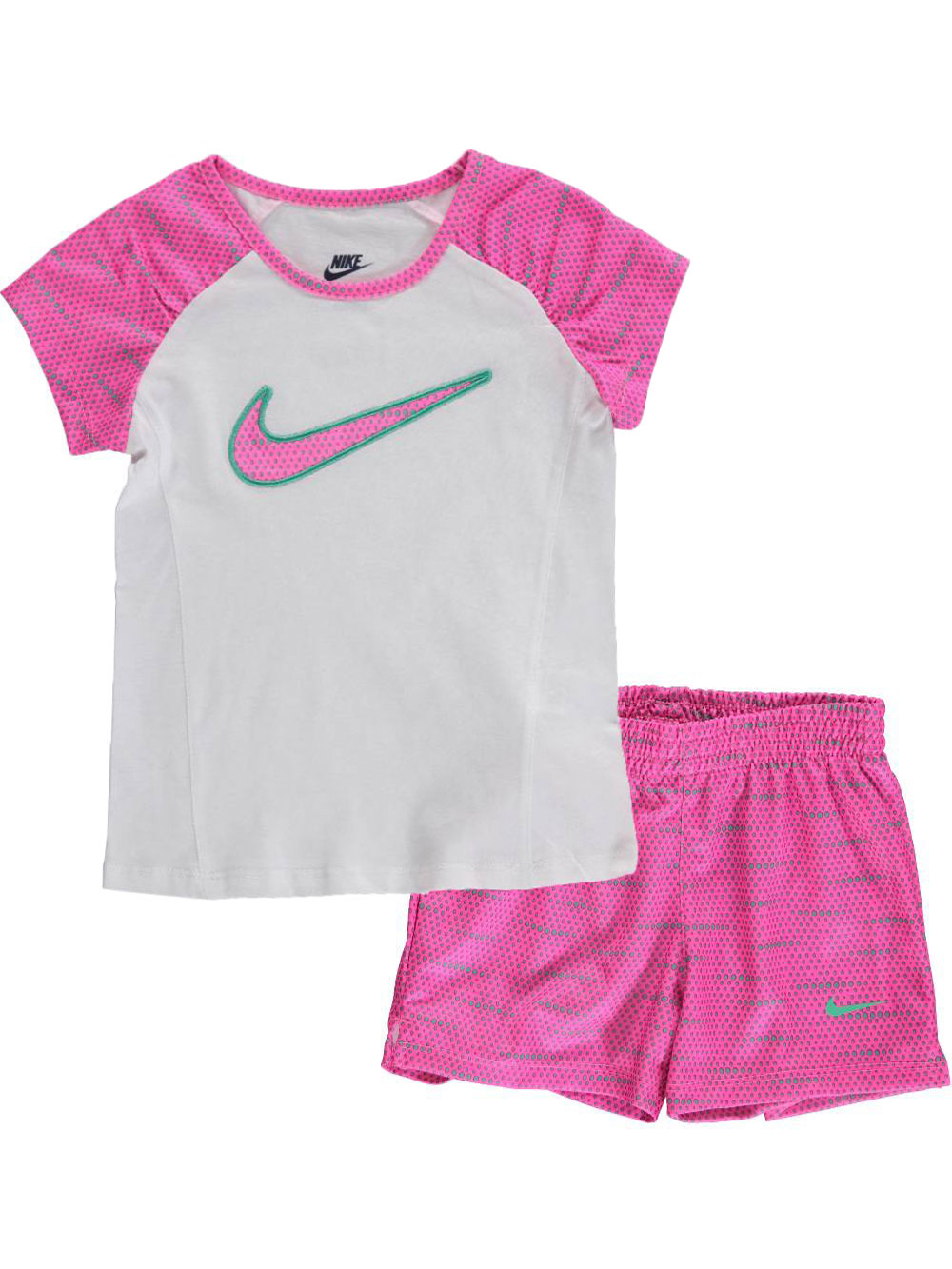 Nike Little Girls' 2-Piece Outfit (Sizes 4 - 6X)