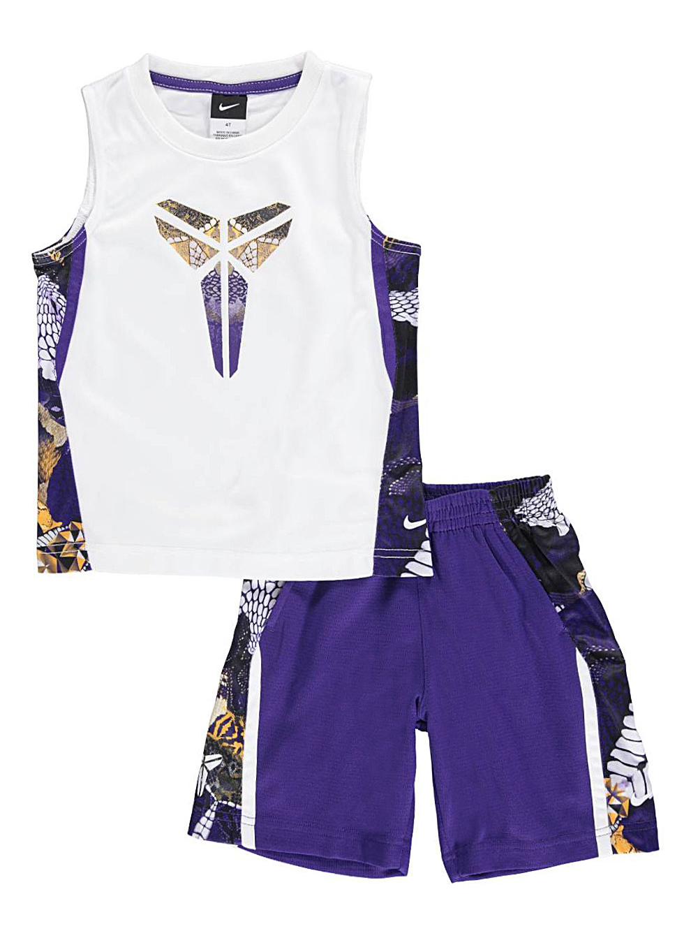 Nike Little Boys' Toddler 2-Piece Outfit (Sizes 2T - 4T)
