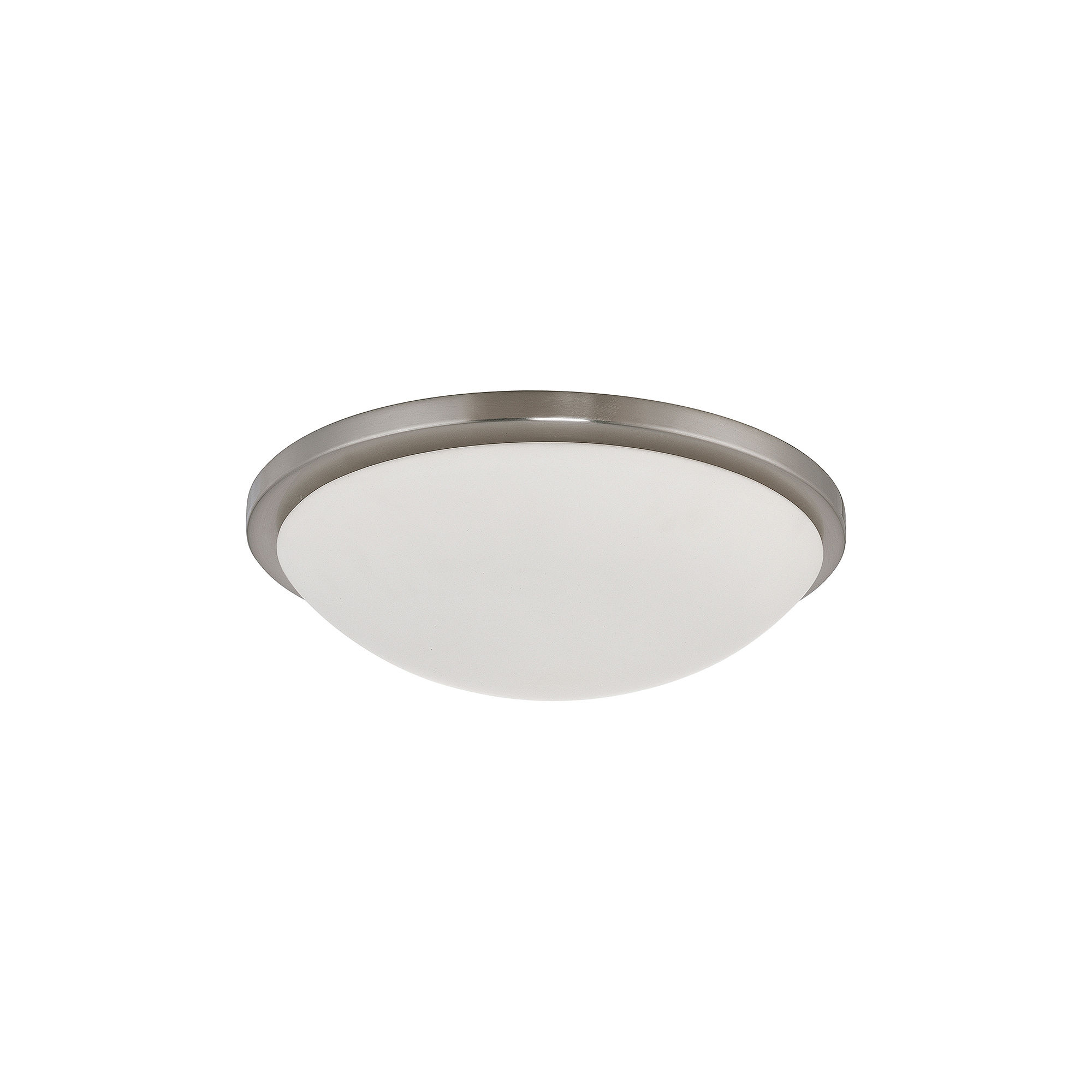 Filament Design 4-Light Brushed Nickel Flush Mount