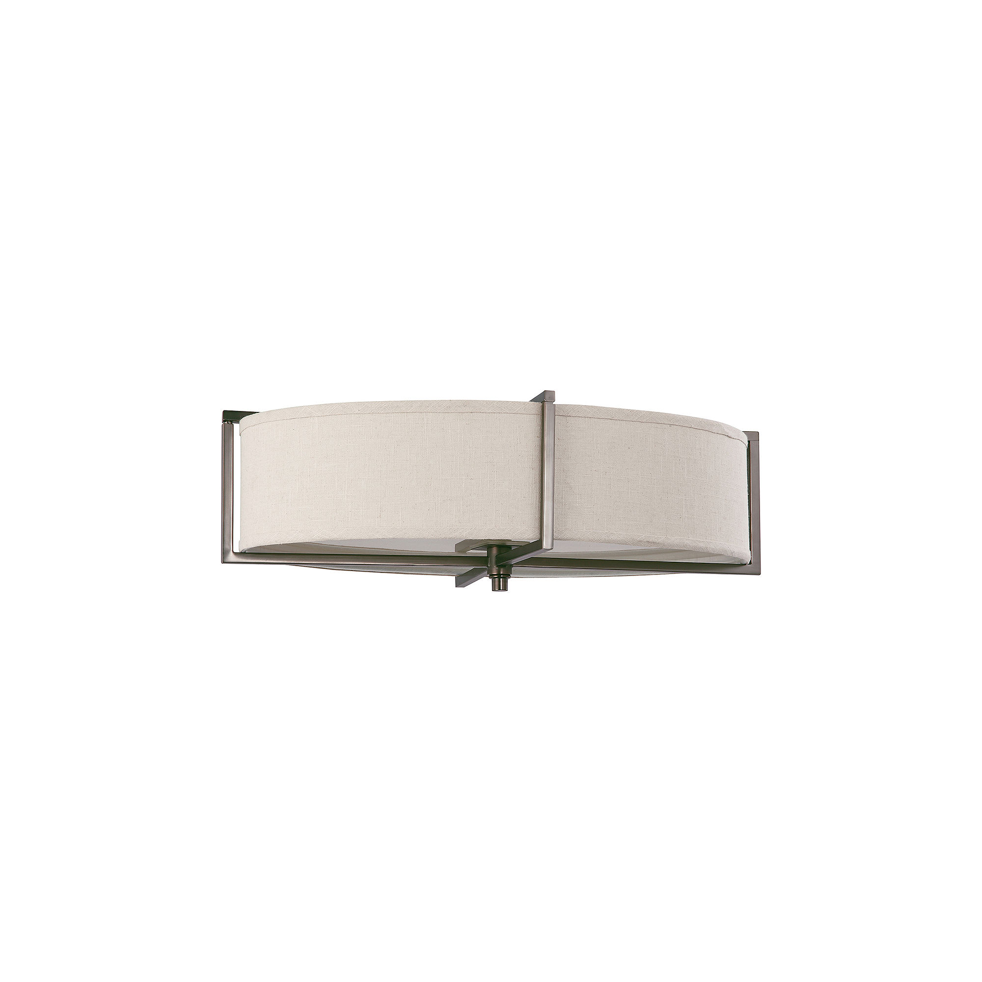 Filament Design 6-Light Hazel Bronze Flush Mount