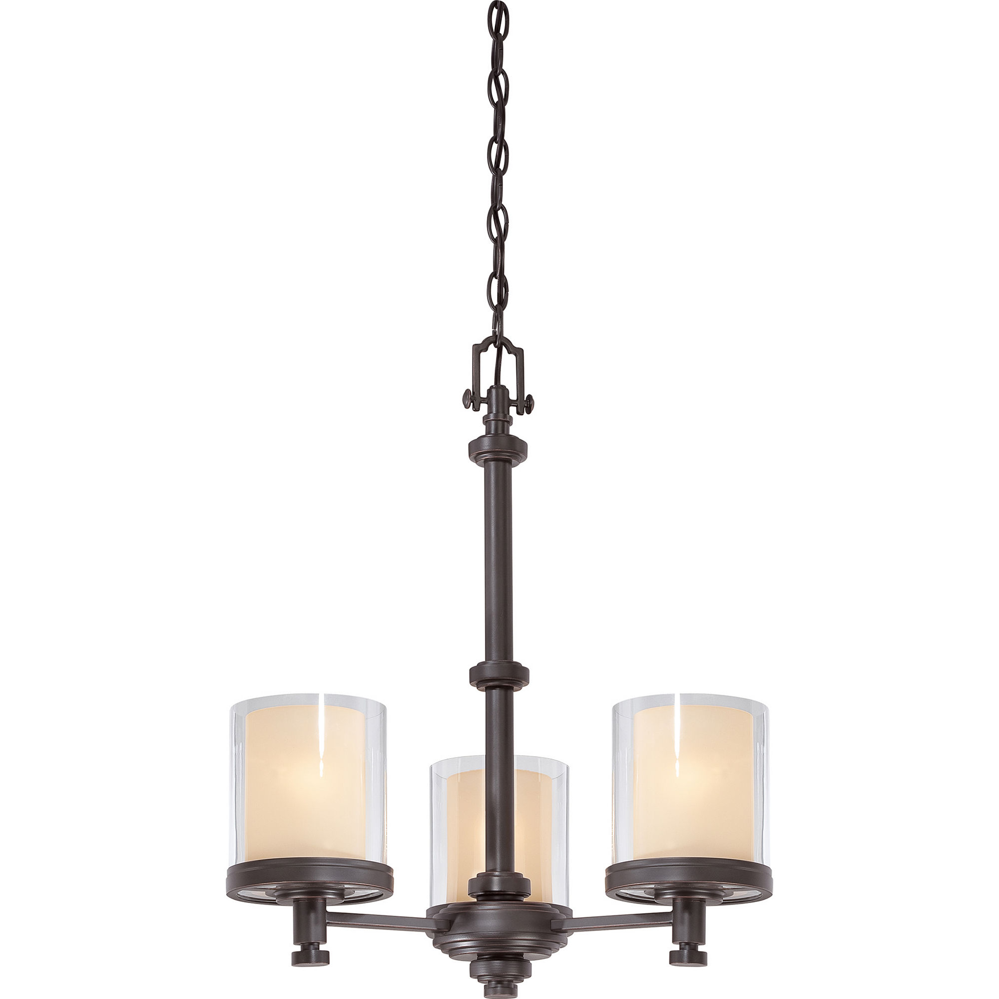 Filament Design 3-Light Sudbury Bronze Chandelier
