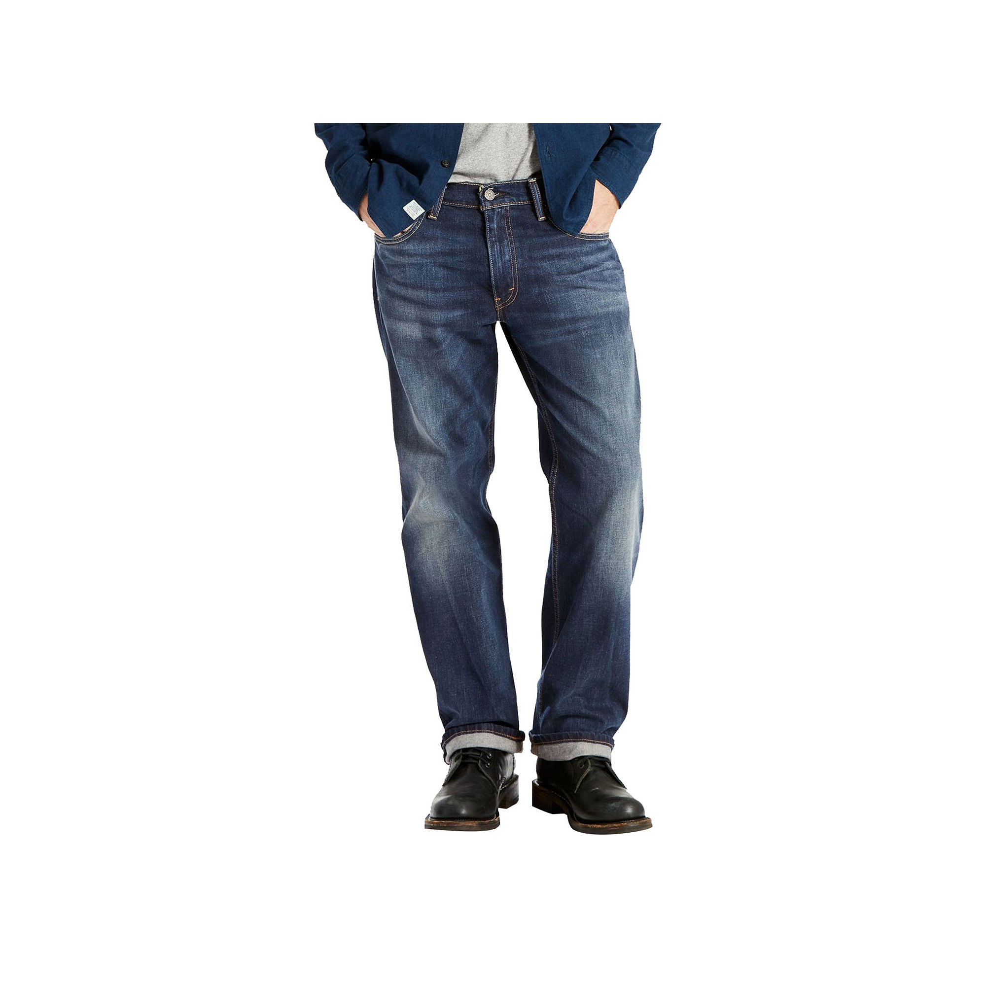 "Levis 569"" Loose Straight Stretch Jeans"