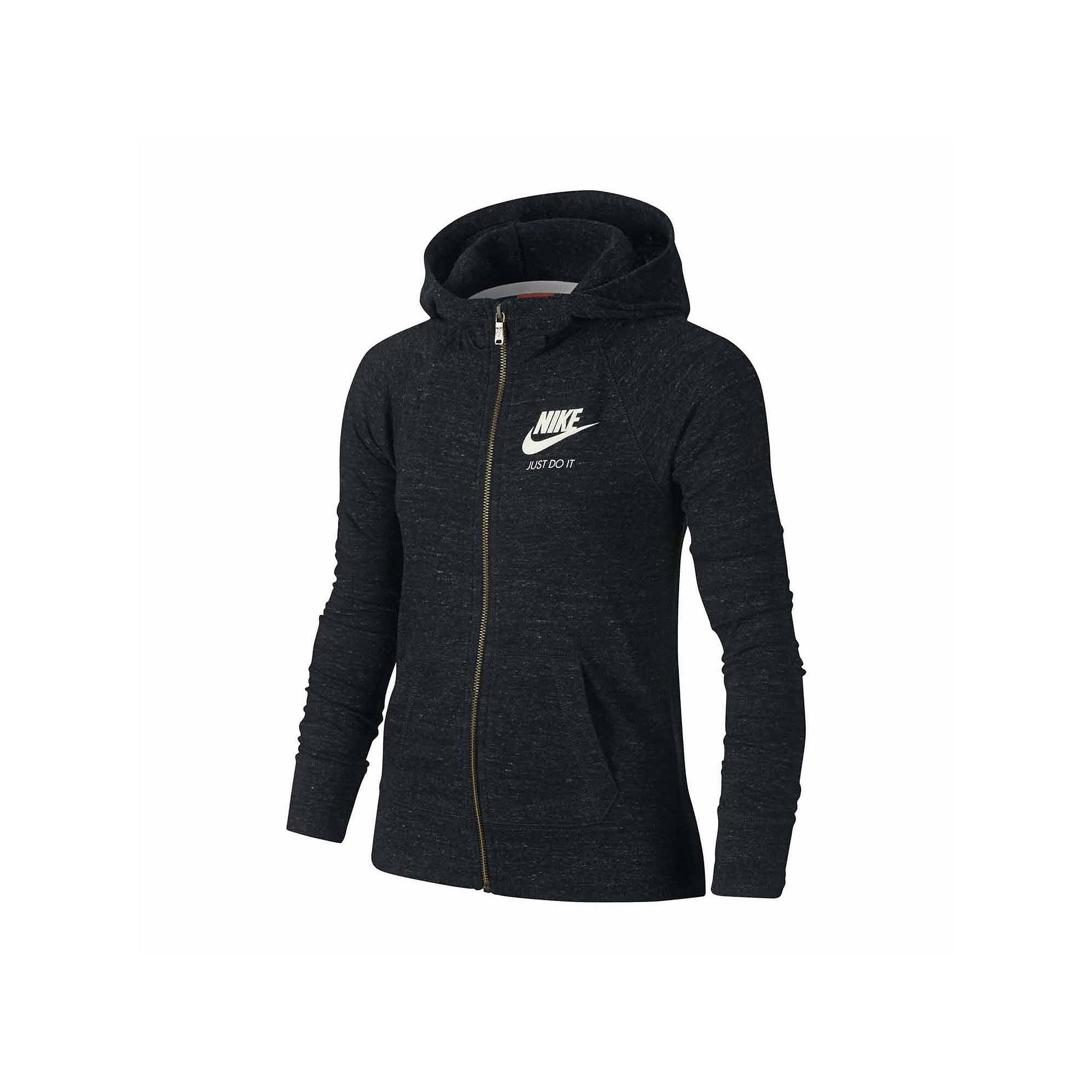 Nike Gym Vintage Cotton Full Zip Hoodie - Girls