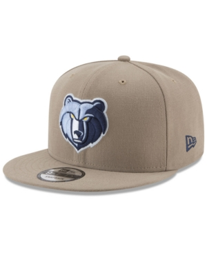 New Era Memphis Grizzlies Tan Top 9FIFTY Snapback Cap