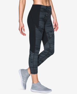 Under Armour StudioLux Printed Cropped Leggings