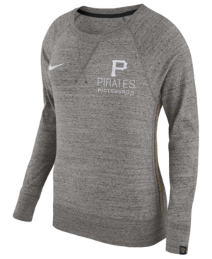Nike Women's Pittsburgh Pirates Vintage Crew Long Sleeve T-Shirt
