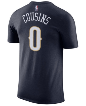 Nike Men's DeMarcus Cousins New Orleans Pelicans Name & Number Player T-Shirt