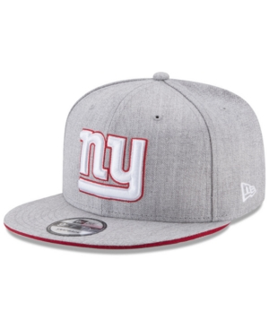 New Era New York Giants Heather Hot 9FIFTY Snapback Cap