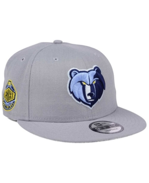 New Era Memphis Grizzlies Gray Pop 9FIFTY Snapback Cap