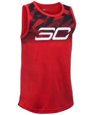 Under Armour SC30 Steph Curry Essentials Graphic-Print Tank, Big Boys (8-20)