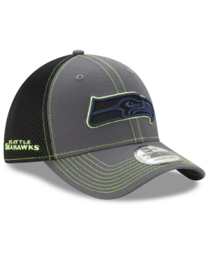 New Era Seattle Seahawks Shock Stitch Neo 39THIRTY Cap