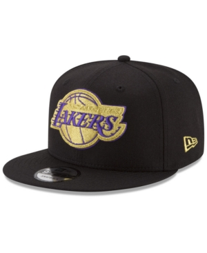 New Era Los Angeles Lakers Gold on Team 9FIFTY Snapback Cap