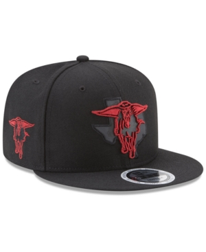 New Era Texas Tech Red Raiders State Flective 9FIFTY Snapback Cap