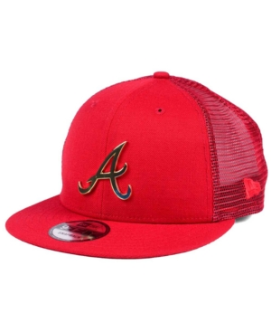 New Era Atlanta Braves Color Metal Mesh Back 9FIFTY Cap