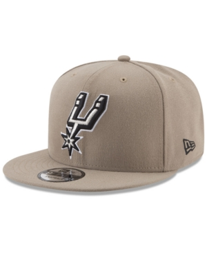 New Era San Antonio Spurs Tan Top 9FIFTY Snapback Cap