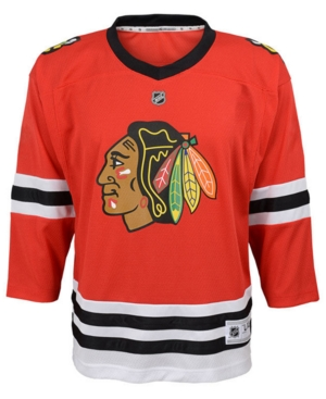 adidas Chicago Blackhawks Blank Replica Jersey, Toddler Boys (2T-4T)
