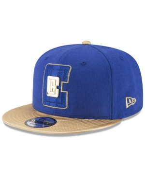 New Era Los Angeles Clippers Triple Gold 9FIFTY Snapback Cap