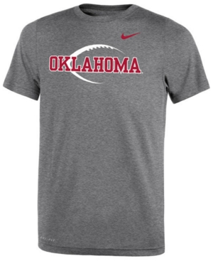Nike Oklahoma Sooners Legend Icon Football T-Shirt, Big Boys (8-20)