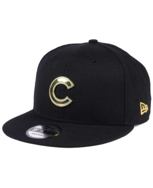 New Era Chicago Cubs Gold and Ice 9FIFTY Snapback Cap
