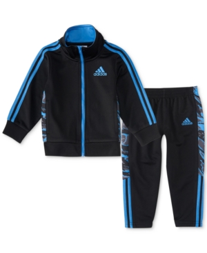adidas 2-Pc. Camo Track Jacket & Pants Set, Toddler Boys (2T-5T)