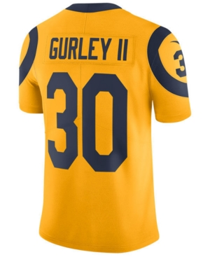 Nike Men's Todd Gurley Los Angeles Rams Limited Color Rush Jersey