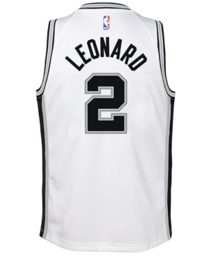 Nike Kawhi Leonard San Antonio Spurs Association Swingman Jersey, Big Boys (8-20)