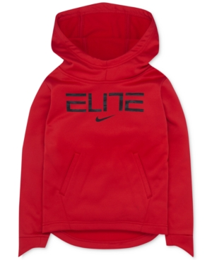 Nike Elite Graphic-Print Therma Hoodie, Little Boys (4-7)