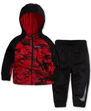 Nike 2-Pc. Therma Hoodie & Jogger Pants Set, Baby Boys (0-24 months)
