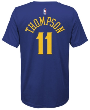 Nike Klay Thompson Golden State Warriors Icon Name & Number T-Shirt, Big Boys (8-20)