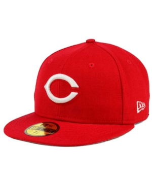 New Era Cincinnati Reds C-Dub Patch 59FIFTY Fitted Cap