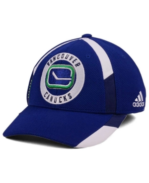 adidas Vancouver Canucks Practice Jersey Hook Cap