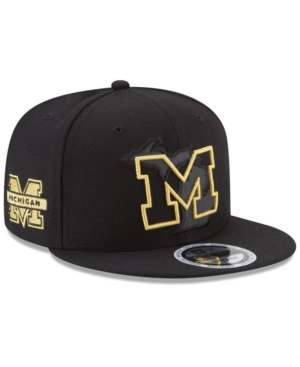 New Era Michigan Wolverines State Flective 9FIFTY Snapback Cap