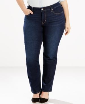 Levi's Plus Size 314 Shaping Straight-Leg Jeans