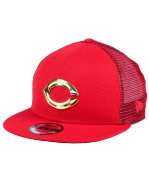 New Era Cincinnati Reds Color Metal Mesh Back 9FIFTY Cap