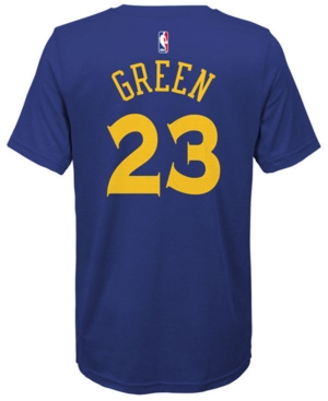 Nike Draymond Green Golden State Warriors Icon Name & Number T-Shirt, Big Boys (8-20)