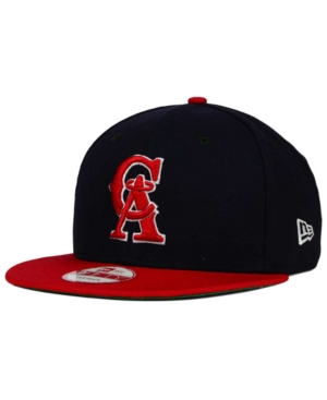 New Era Los Angeles Angels of Anaheim 2 Tone Link Cooperstown 9FIFTY Snapback Cap