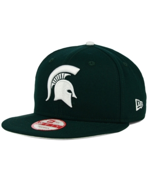 New Era Michigan State Spartans Core 9FIFTY Snapback Cap