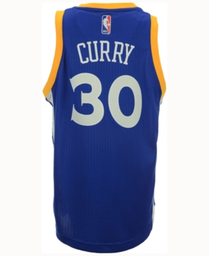 adidas Stephen Curry Golden State Warriors New Swingman Jersey, Big Boys (8-20)
