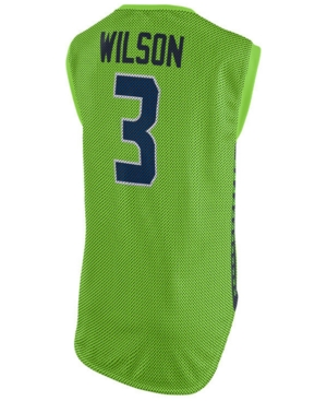 Nike Women's Russell Wilson Seattle Seahawks Color Rush Sleeveless Player Jersey