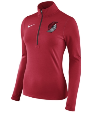 Nike Women's Portland Trail Blazers Element Pullover